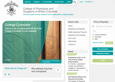 College of Physicians and Surgeons of BC