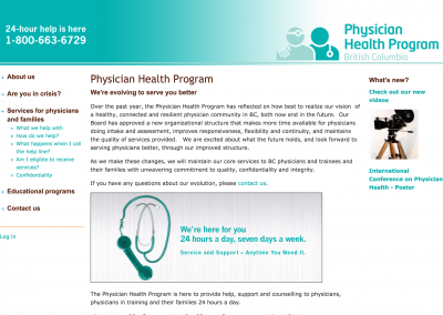 Physician Health Program of BC