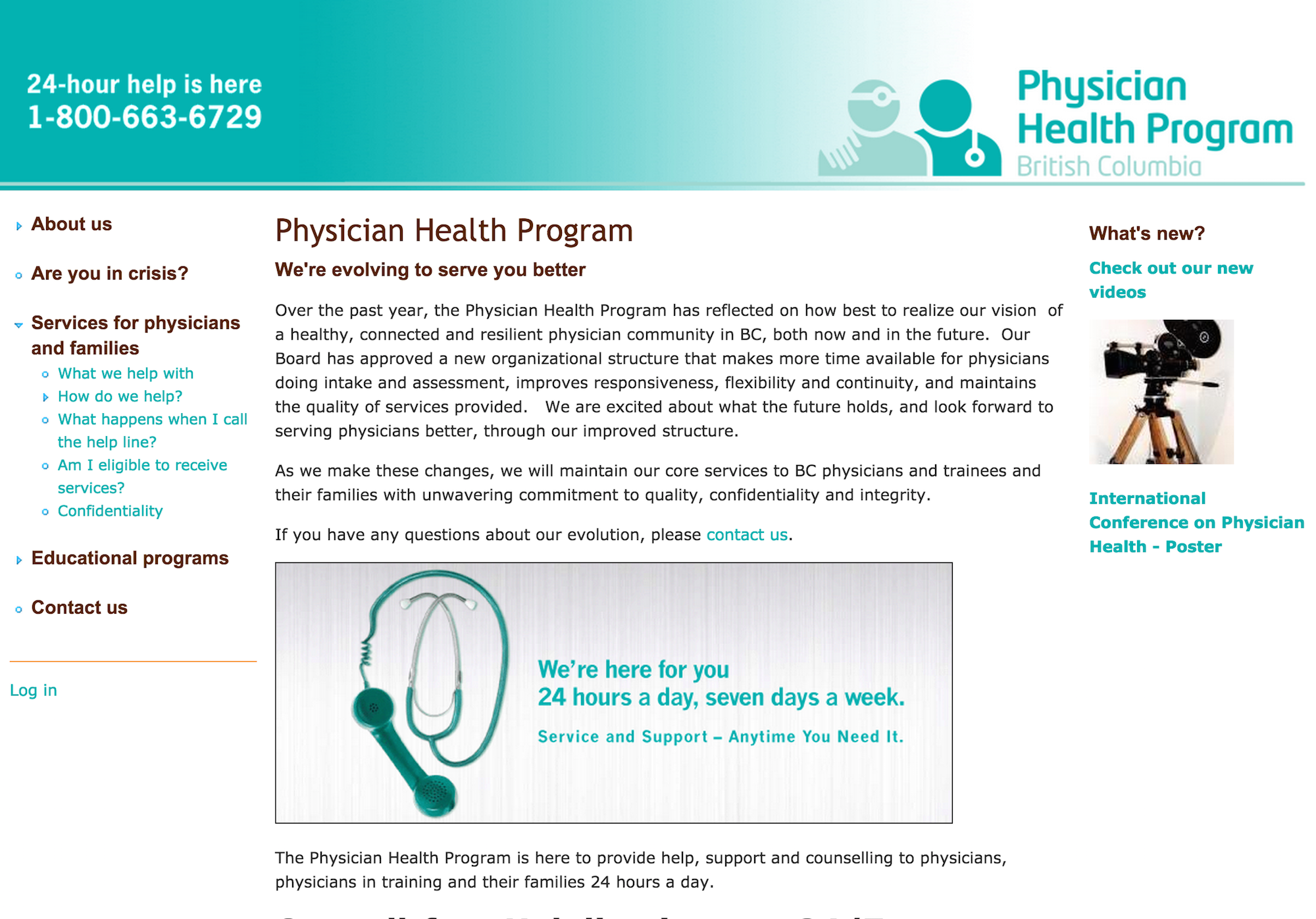 physician health program