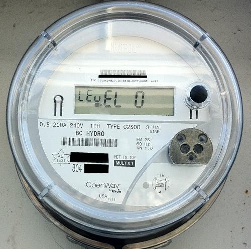 BC Hydro smart meter