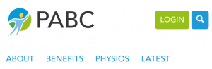 PABC mobile menu