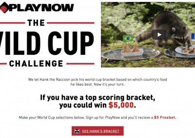 BC Lottery Corporation – Wildcup 2018